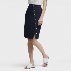 DKNYDENIM PENCIL SKIRT