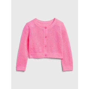 Gap女婴、幼童编织衫