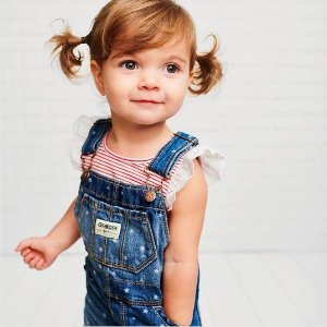 Last Day: 50% Off + Extra 25% Off $40 + Free Shipping+ Fun Cashs Best Overall Sale @ OshKosh BGosh
