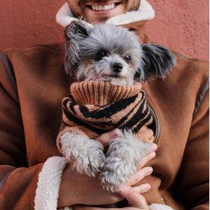 $20+收狗狗棉服H&M 毛茸茸小伙伴的时尚 精选狗狗服饰抢鲜热卖