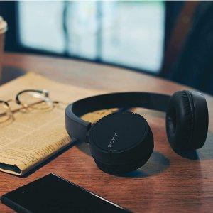 5.5折特价 仅需€32.99大法耳机带回家Sony WH-CH500 无线蓝牙头戴式耳机
