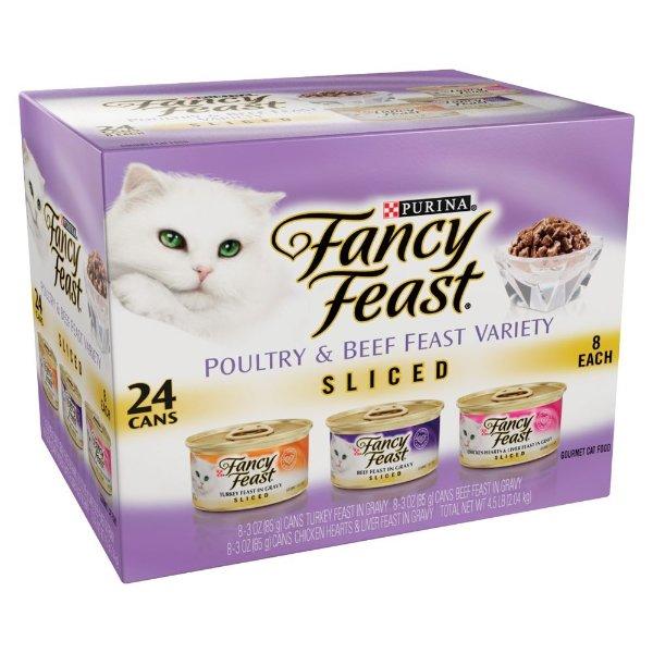 混合口味猫罐头 3oz 24罐
