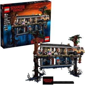 $263(原价$349)LEGO乐高 怪奇物语系列 颠倒世界 75810