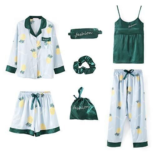 ZHPUAT 可爱睡衣7件套