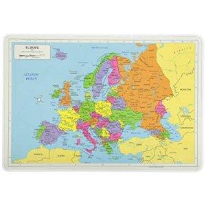 地图餐垫 欧洲
