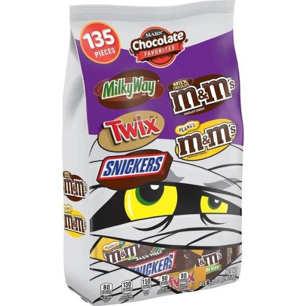 巧克力综合大包装 135颗装