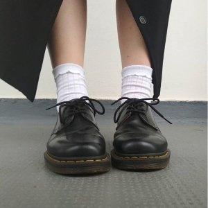 Dr. Martens3孔小皮鞋 大儿童