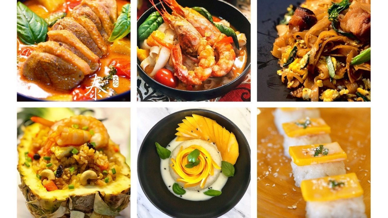 不用上餐馆,五款泰式美食在家简单做!