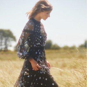 低至3折+新人8.5折 £148收蕾丝上衣Needle & Thread 仙女连衣裙大促 低调优雅小仙女必备
