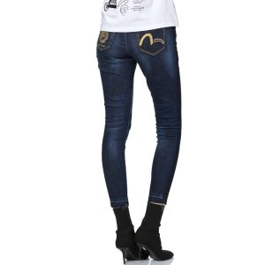 Evisu修身小M牛仔裤