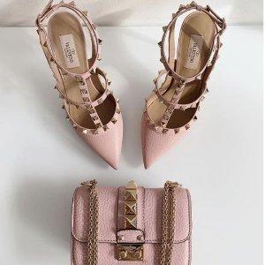低至3折 €703收铆钉高跟鞋上新:Ssense官网 美鞋专场 大牌云集 年中大促上新补货