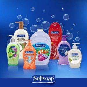 $5.59 包邮 每瓶仅$0.94Softsoap 抗菌洗手液 221ml x 6瓶
