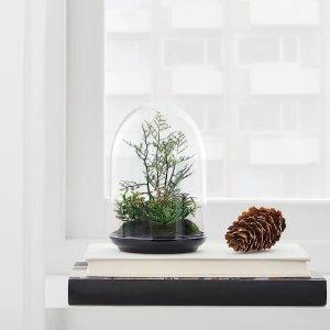Ikea人造玻璃罩 15厘米
