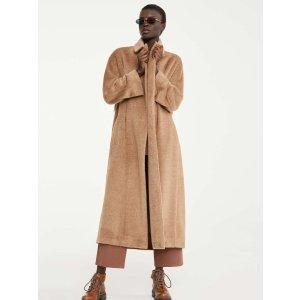 Max MaraWool and alpaca coat, camel -