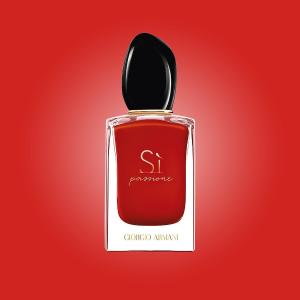 送同系列2件套Armani Beauty Si挚爱系列香氛系列促销