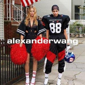 低至4折 经典短靴Gabi黄金码补货折扣升级:Alexander Wang 美包美鞋成衣热卖 收超火断跟靴