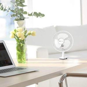6.5折仅€19 夏日必备Pro Breeze 桌上风扇 可夹写字桌、床头 100º旋转头