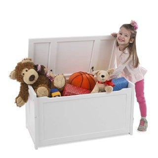 $58.30(原价$109.23)+包邮史低价:Melissa & Doug 儿童木质玩具收纳箱