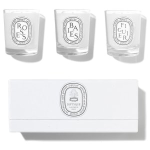 Diptyque$20 off with $100Baies, Figuier, Roses Mini Candle Set