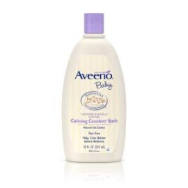 Amazon.com : Aveeno Baby Calming Comfort Bath with Lavender & Vanilla, Hypoallergenic & Tear-Free, 18 fl. oz : Baby Bathing Body Washes : Beauty