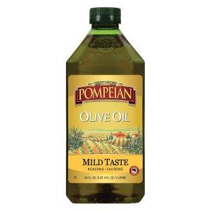 Pompeian Classic Olive Oil, Mild Flavor 68 FL. OZ.