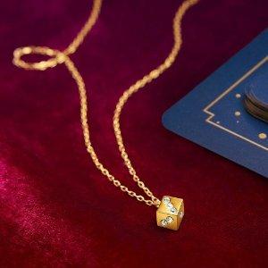 新用户9折+满额送小骰子项链最后一天:Swarovski 官网首饰特卖 收IU德鲁纳同款