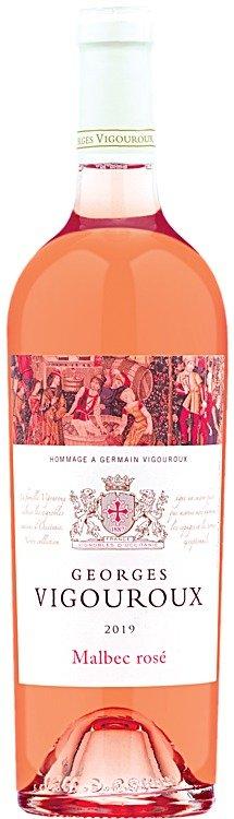 2019 Georges Vigouroux 覆盆子+草莓+桃子口味桃红葡萄酒