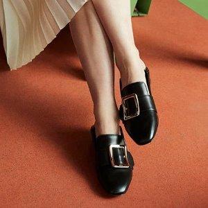 低至5折+额外85折  穆勒鞋$200+收折扣升级:Bally官网 冬季大促 粉丝最爱乐福鞋也参加 光速断码