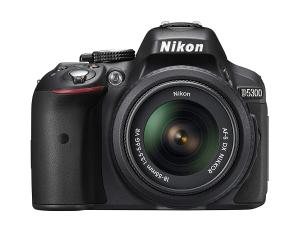 $529限今天:尼康D5300 单反相机(带18-55mm 镜头)官方翻新版
