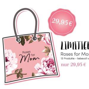 整整16件明星单品 仅€29母亲节大礼包:玫瑰限量母亲款护肤美妆礼品包!Dior 阿玛尼都包含
