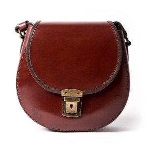 Beara BearaSmall Brown Leather Handbag by Beara Beara