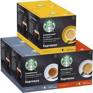 Starbucks胶囊咖啡 多种口味