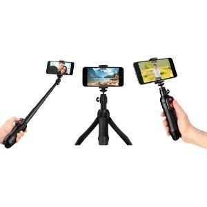 $34.99 (原价$59.99)限今天:IK Multimedia iKlip Grip Pro 多功能自拍杆