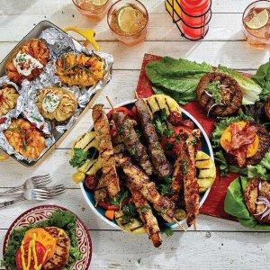 免费送餐上门 开背蒜蓉虾$15.99夏日后院烧烤大神的秘密 让你通吃世界料理的神仙店铺