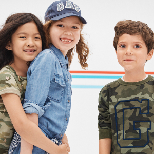 Up To 50% Off + Extra 20% OffKid's Fashion Sale @ Gap