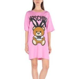 低至4折 小熊长Tee $221Moschino 小熊系列热卖 百变小熊,上身超可爱