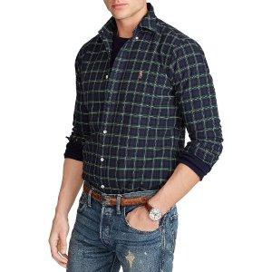 Polo Ralph LaurenCotton Oxford 衬衣