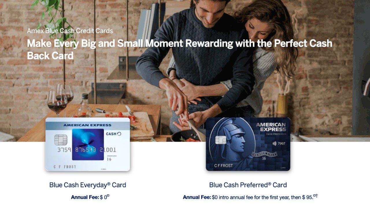 AmEx Blue Cash Everyday 和 Blue Cash Preferred 该选哪个?