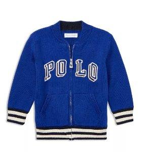 低至3折 持续更新儿童服饰促销区特卖 封面Ralph Lauren外套3折收