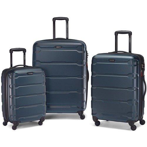 Omni 硬壳万向轮旅行箱三件套 深蓝色