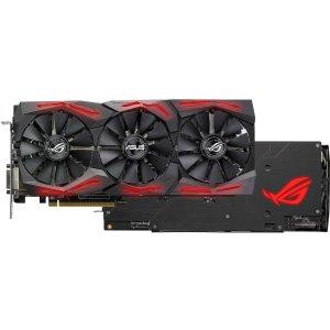 $179.99 (原价$209.99)ASUS ROG Strix Radeon RX 580 O8G 显卡
