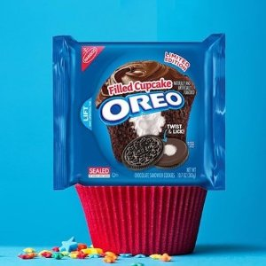 $1.97(原价$3.48)  5种口味可选Oreo 奥利奥巧克力夹心饼干 303克 下午茶点心首选