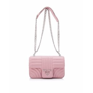a572433444ad Prada Soft Calf Impunture Diagramme Shoulder Bag 18cm · PradaSoft Calf  Impunture Shoulder Bag