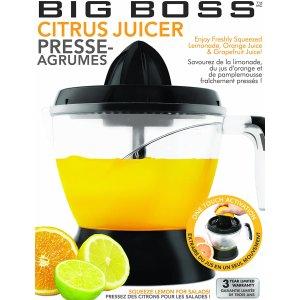 $10收黑色 (红色价$28.99)白菜价:BIG BOSS CIRTUS 手动橙子榨汁器 果汁神器 1180ml