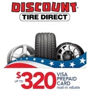 Up to $320 in TotalDiscount Tire Direct Presidents Day Sale w/ Rebates