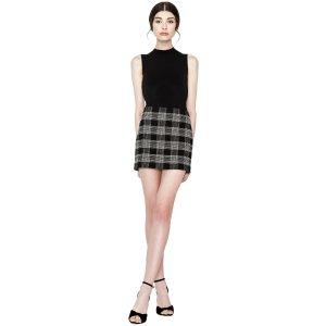 低至2.5折即将截止:alice + olivia 官网季末促销 精选精美半裙热卖
