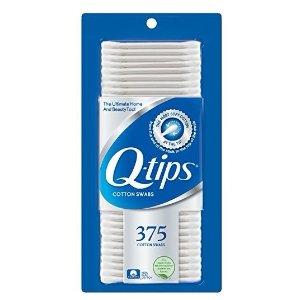 $2 Q-tips Cotton Swabs, 375 ct