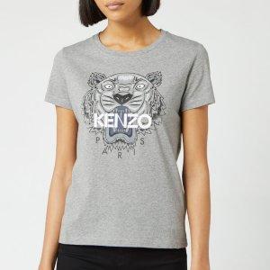 Kenzo女士虎头T恤
