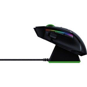 RazerBasilisk Ultimate 无线游戏鼠标 带底座