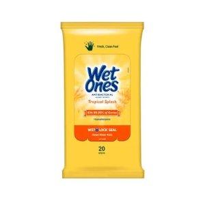Wet Ones消毒湿巾 20片